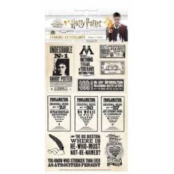 Stickers - Paper House - Harry Potter - 4 feuillets - Journal