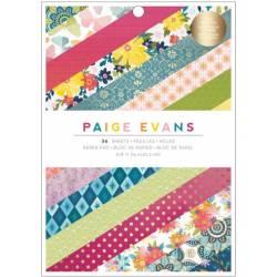 Pack de papiers 15x20cm - Paige Evans