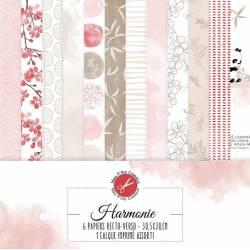 Pack Papier - Mes Ptits Ciseaux - Collection Harmonie