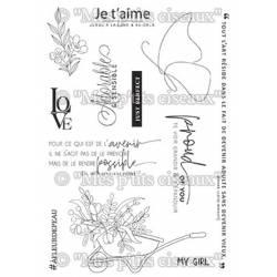 Tampons clear - Mes Ptits Ciseaux - Harmonie - A fleur de peau