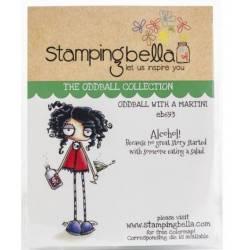 Tampons Cling - Stampingbella - Oddball with a martini