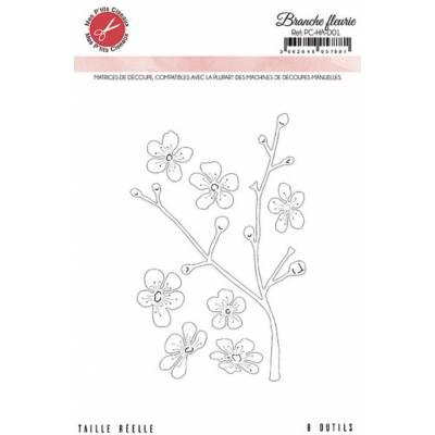 Dies - Mes P'tits Ciseaux - Harmonie - Branche fleurie