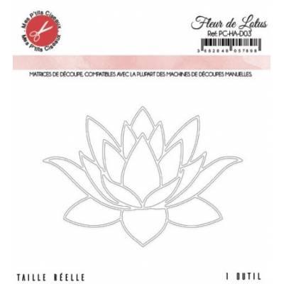 Dies - Mes P'tits Ciseaux - Harmonie - Fleur de lotus