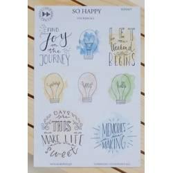 Stickers Studio Forty - So Happy