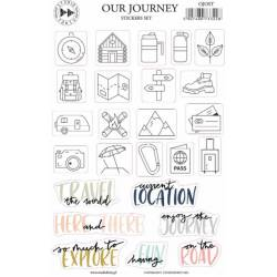 Stickers Studio Forty - Our Journey