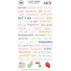 Stickers Studio Forty - Lazy Days