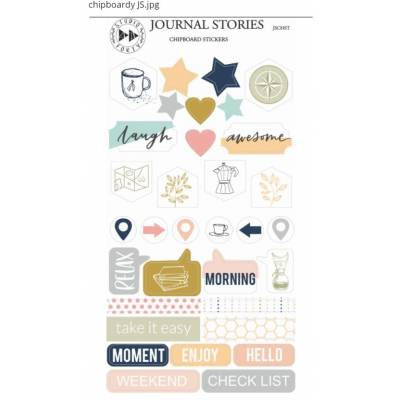 Chipboard Stickers - Studio Forty - Journal Stories