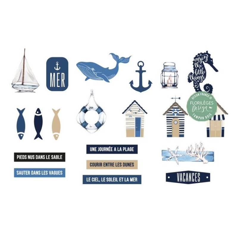 Décorations acryliques - Vue sur mer