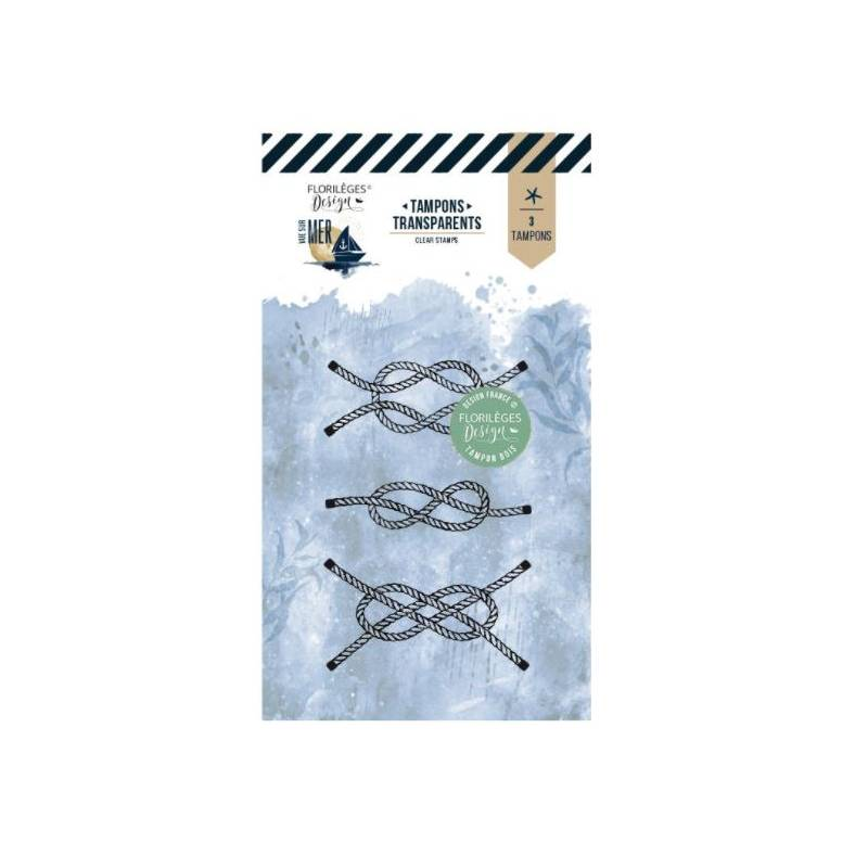 Tampons clear - Florilèges - Vue sur mer - Noeuds marins