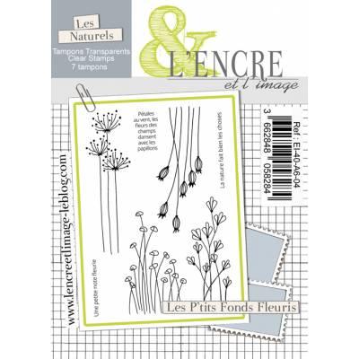Tampons L'Encre & l'Image - Les P'tits Fonds Fleuris