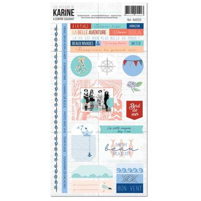 Collection A contre courant- Stickers - 15 x 30