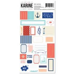 Collection A contre courant - Stickers - Etiquettes