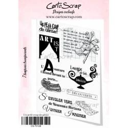 Tampons CartoScrap - Un petit coup de génie