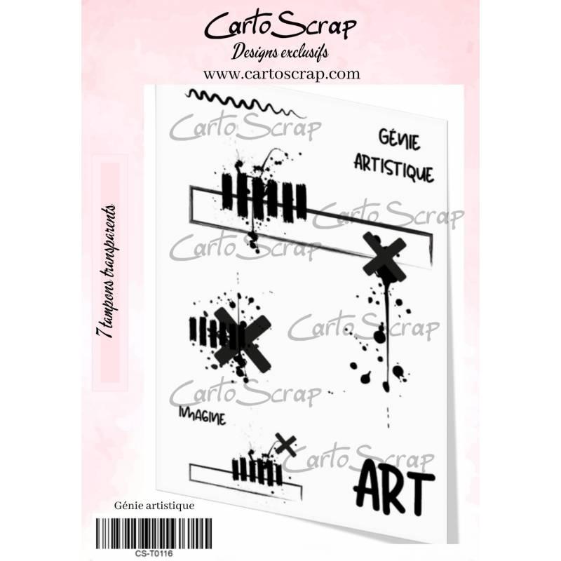 Tampons CartoScrap - Génie artistique