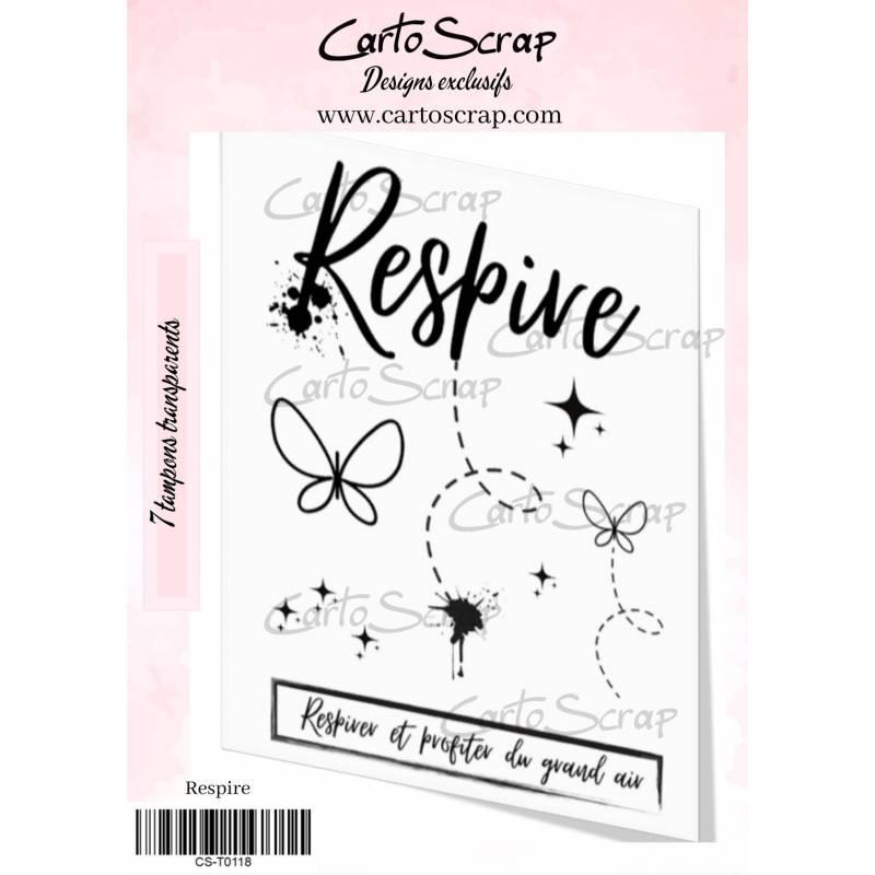 Tampons CartoScrap - Respire