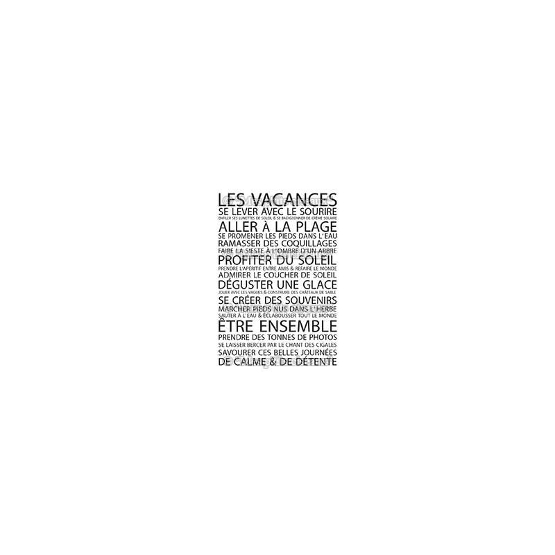Tampons clear - Mes Ptits Ciseaux - Farniente - Les vacances
