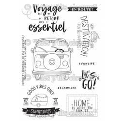 Tampons clear - Mes Ptits Ciseaux - Farniente - En route