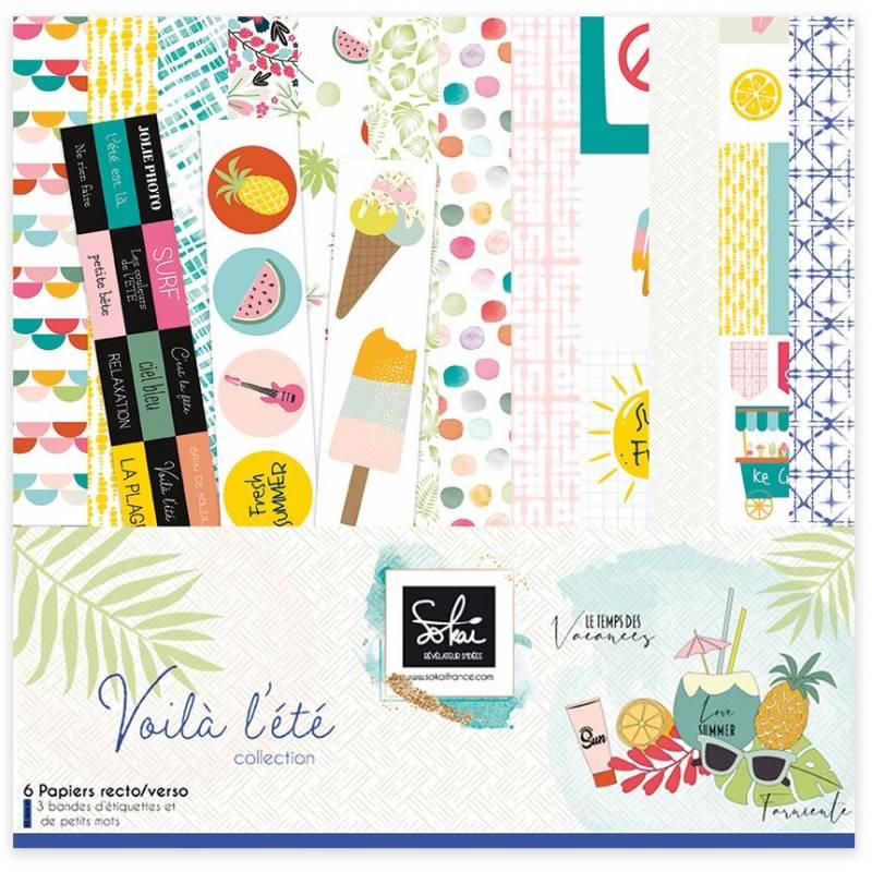 Pack 30x30 - Sokai - Collection Voilà l'été