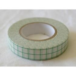 Masking Tape - Carreaux - Vert (12 mm)
