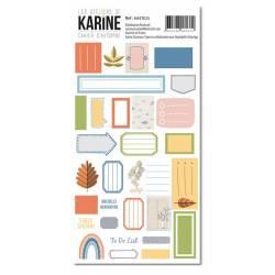 Collection Cahier d'automne - Stickers - Etiquettes