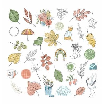Die Cuts Calques - Cahier d 'automne