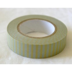 Masking Tape - Rayé Jaune/Gris (13 mm)
