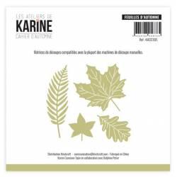 Dies - Collection Cahier d'automne - Feuilles d'automne