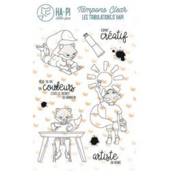 Tampons clear - HA.PI Little Fox - Artiste
