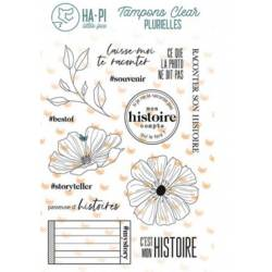 Tampons clear - HA.PI Little Fox - Passeuse d'histoires