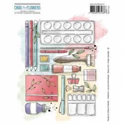 Tampons EZ - Chou & Flowers - Chronodex