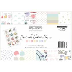 Pack Papiers A4 - Chou & Flowers - Journal chromatique