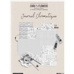 Pack Papiers A4 - Chou & Flowers - Journal chromatique - Black & White