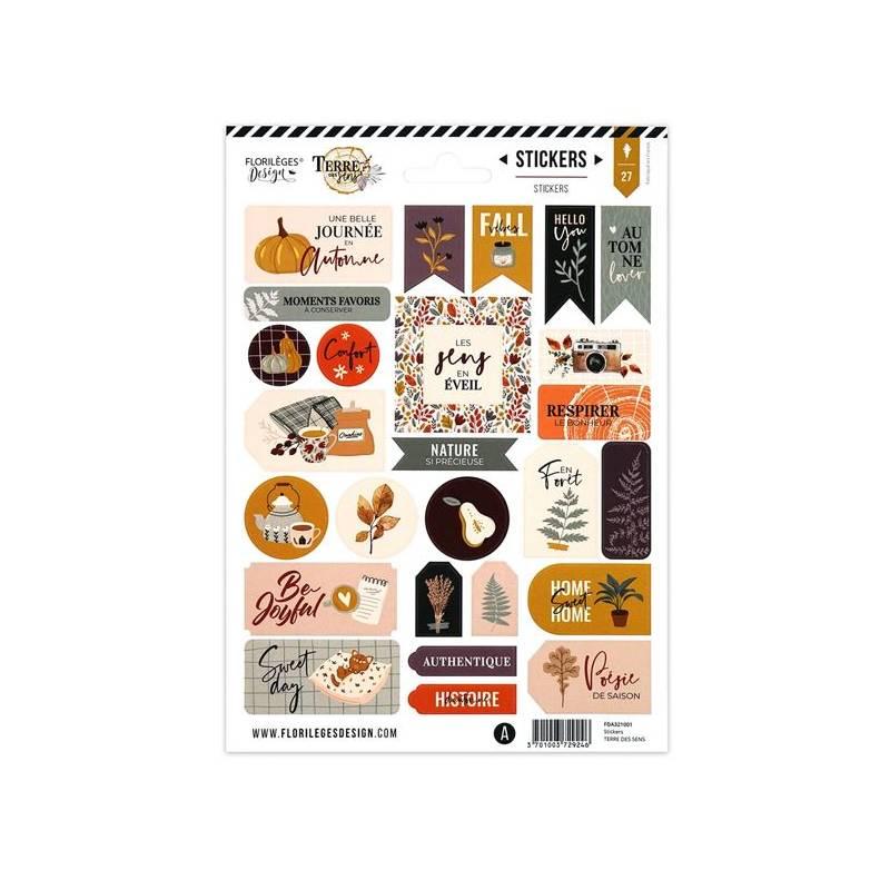 Stickers - Florilèges - Terre des sens