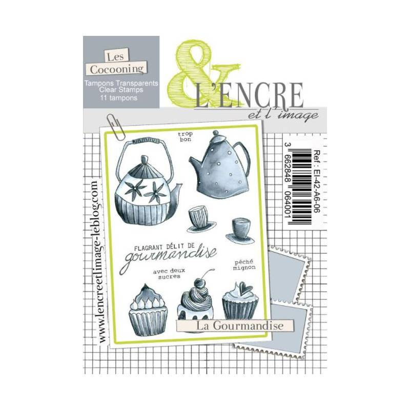 Tampons L'Encre & l'Image - La gourmandise