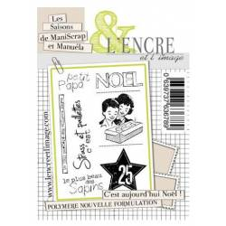 Tampons L'Encre & l'Image - Collector - C'est aujourd'hui Noël