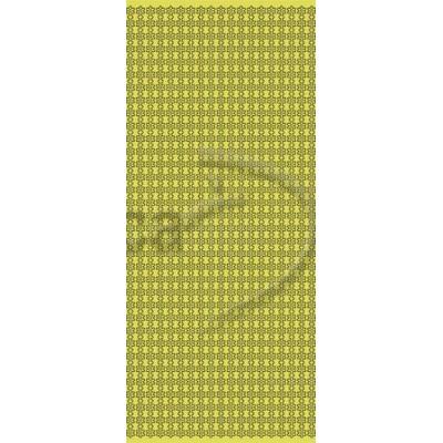 Stickers Peel-off - Bordures Petites Fleurs - Or