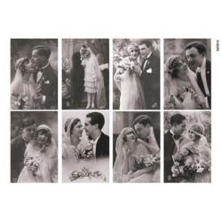 Feuille d'images Vintage - Wedding