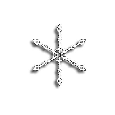 Die Memory Box - Beaded Snowflake