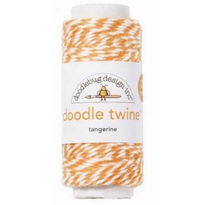 Doodle Twine - Tangerine (20 yd)