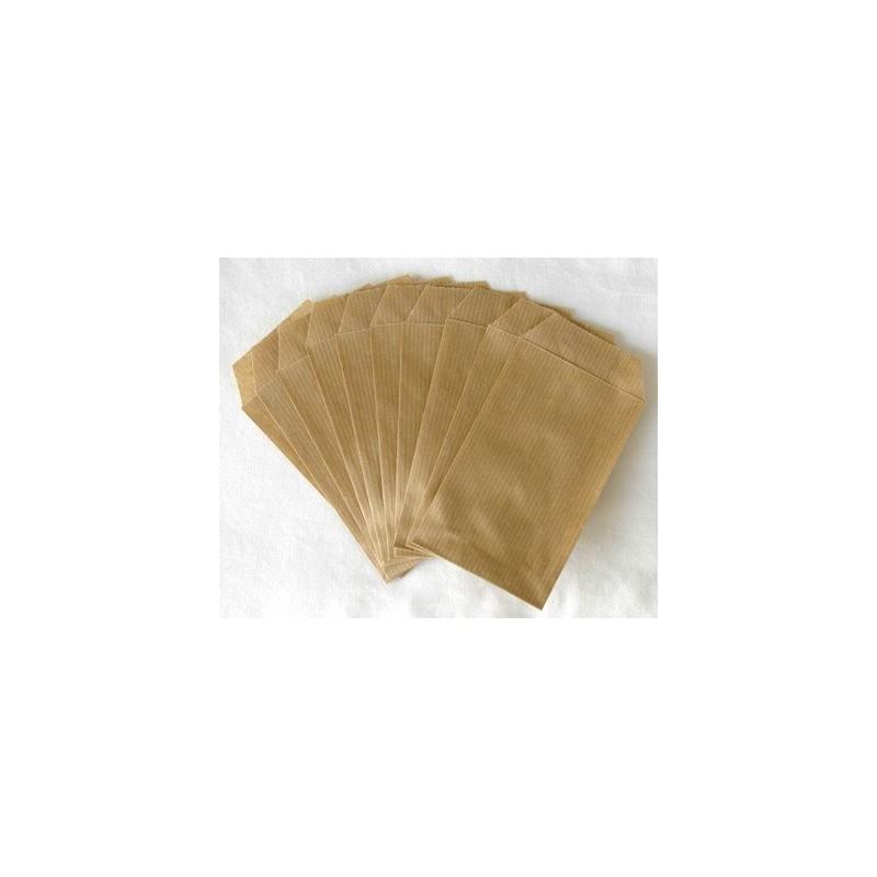 Pochettes / Sachets en kraft 7x13 cm (10) - Kraft