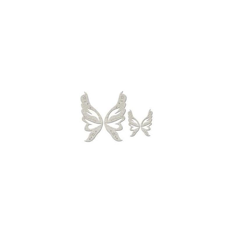Chipboards Fairy Wings