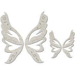 Chipboards Fairy Wings