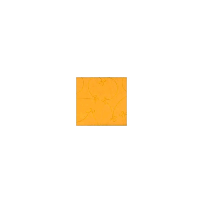 Papier cousu main orange 25x28 cm