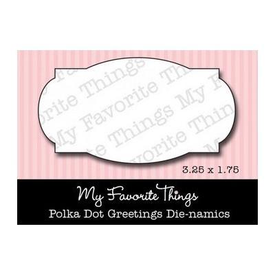 Die-Namics - Polka Dot Greetings