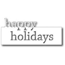 Die Memory Box - Grand Happy Holidays