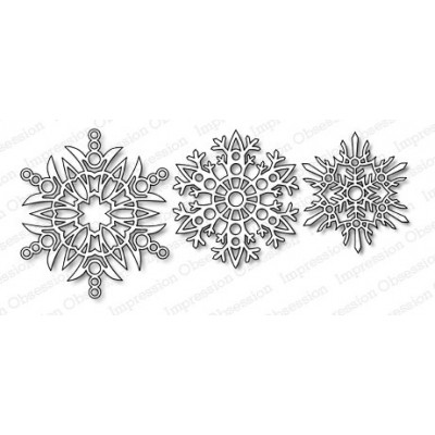 Die Impression Obsession - Snowflakes