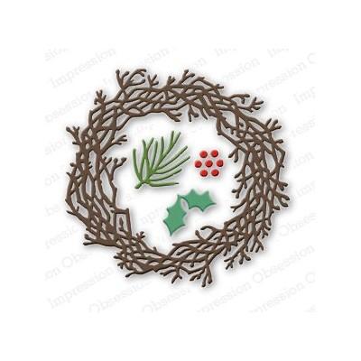 Die Impression Obsession - Twig Wreath