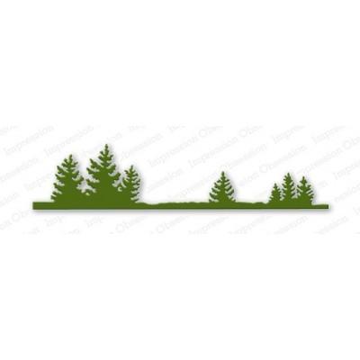 Die Impression Obsession - Fir Tree Border