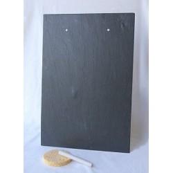 Support en ardoise - Plaque 22x32 cm 2 trous