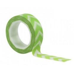 Washi Tape - Chevrons Green